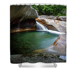 The Basin At Franconia Notch State Park Shower Curtain