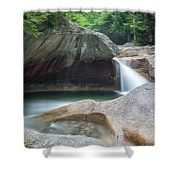 The Basin Nh Shower Curtain by Michael Hubley