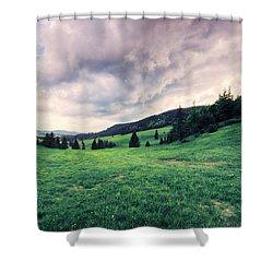 The Basin Shower Curtain
