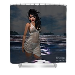 The Beach 1 Shower Curtain
