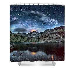 The Beacon Shower Curtain by Evgeni Dinev