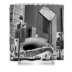 The Bean - 2 Shower Curtain