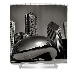 The Bean - 4 Shower Curtain