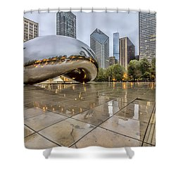 The Bean Hdr 01 Shower Curtain