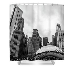 The Bean Shower Curtain