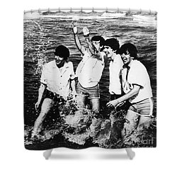 The Beatles, 1964 Shower Curtain by Granger