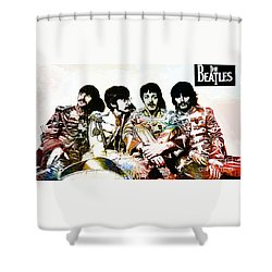 The Beatles--sargent Peppers Lonely Hearts Club Band Shower Curtain