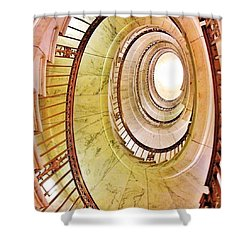 The Beautiful Dome Of The Us Supreme Shower Curtain