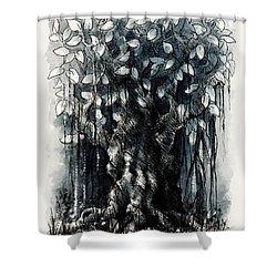 The Beautiful Tree Shower Curtain by Rachel Christine Nowicki
