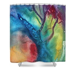 The Beauty Of Color 3 Shower Curtain by Megan Duncanson