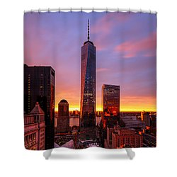 Shower Curtain featuring the photograph The Beauty Of God by Anthony Fields