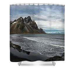 Shower Curtain featuring the photograph The Beauty Of Iceland by Sandra Bronstein