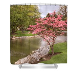 Shower Curtain featuring the photograph The Beauty Of Spring by Angie Tirado