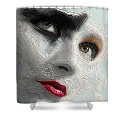 The Beauty Regime Shower Curtain