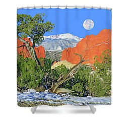 The Beauty That Takes Your Breath Away And Leaves You Speechless. That's Colorado.  Shower Curtain