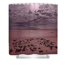 Shower Curtain featuring the photograph The Beginning I V by Julian Cook