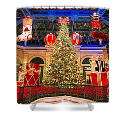 The Bellagio Christmas Tree 2015 Shower Curtain