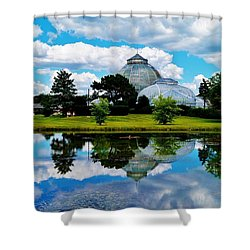 The Belle Isle Conservancy Shower Curtain