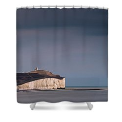 The Belle Tout Lighthouse Shower Curtain