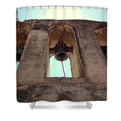 The Bells Of Capistrano Shower Curtain