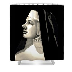 The Bell's Of St. Mary's  Shower Curtain by Fred Larucci