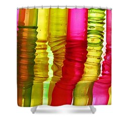 The Bendy Part Shower Curtain