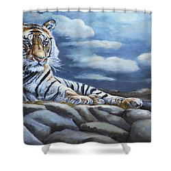 The Bengal Tiger Shower Curtain