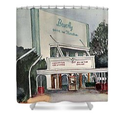 The Beverly Drive Inn Shower Curtain