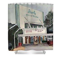 The Beverly Drive Inn Shower Curtain
