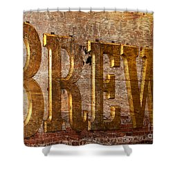 The Big Brew Shower Curtain