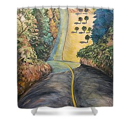 The Big Dip Shower Curtain