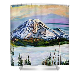 The Big Fella Shower Curtain