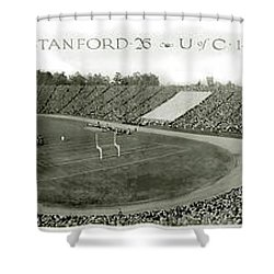 Stanford And U Of C 1925 Shower Curtain