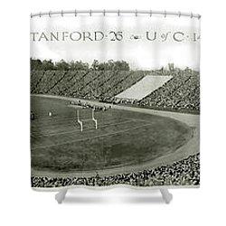 Stanford And U Of C 1925 Shower Curtain by Jon Neidert
