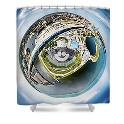 The Big Gig Shower Curtain
