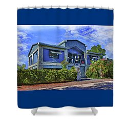 The Big House Shower Curtain