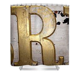 Regal R Shower Curtain