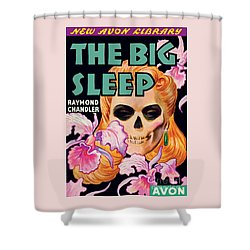 Shower Curtain featuring the painting The Big Sleep by Paul Stahr