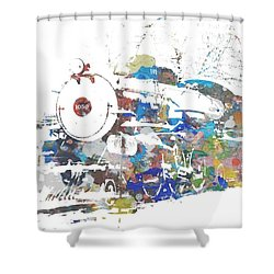 The Big Train Shower Curtain