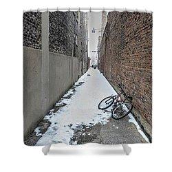 The Bike Shower Curtain