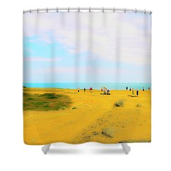 The Bill Shower Curtain by Jan W Faul