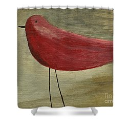 The Bird - Original Shower Curtain by Variance Collections