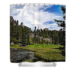 The Black Hills Of Custer State Park Shower Curtain by Deborah Klubertanz