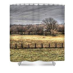The Bleak Season Shower Curtain