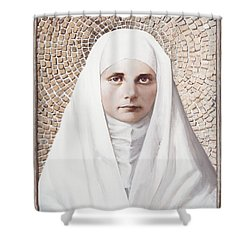 The Blessed Virgin Mary - Lgbvm Shower Curtain