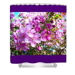 The Blossoms Of Spring Shower Curtain