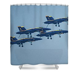 The Blue Angels Shower Curtain