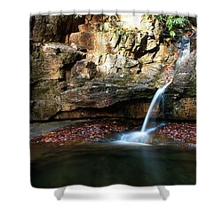 The Blue Hole In November #2 Shower Curtain