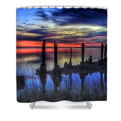 The Blue Hour Comes To St. Marks #2 Shower Curtain