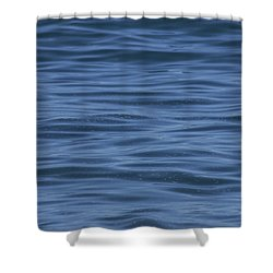 Shower Curtain featuring the photograph The Blue Pacific by RKAB Works